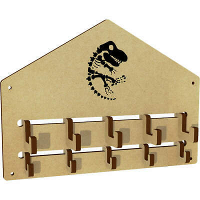 'Dinosaur Fossil' Wall Mounted Coat Hooks / Rack (WH00000260) • 6.99£
