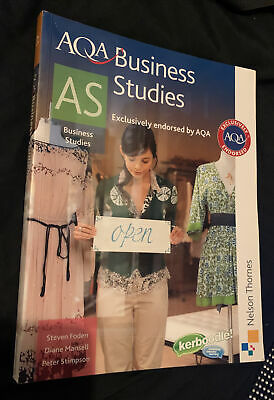 AQA Business Studies AS By Diane Mansell, Steven Foden, Peter Stimpson... • 6.99£