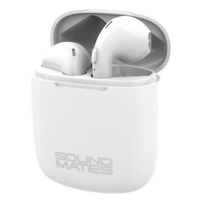 $ CDN19.16 • Buy Tzumi Sound Mates Bluetooth Earbuds With Protective Charging Case - White