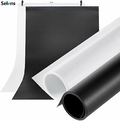 Photography PVC Background Paper T Backdrop Stand Studio Support System W/ Clamp • 14.98£