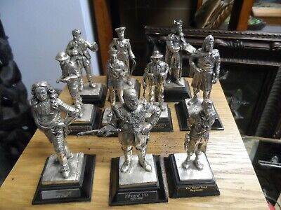 Set Of 11 Metal Soldiers And Royal Figures  • 35£