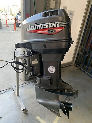 AU5250 • Buy 90 Hp JOHNSON Ocean Pro 1999 Mdl  Outboard Motor (Interstate Freight Available)