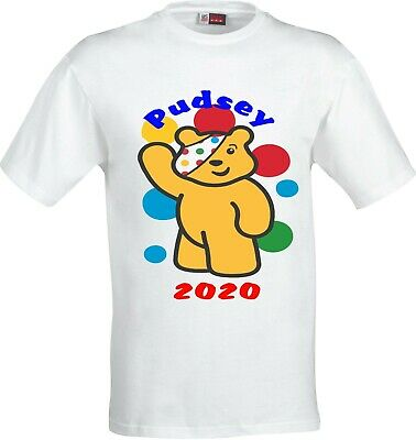 Children In Need 2020 Pudsey Bear With Balloons Full Colour T Shirt • 7.74£