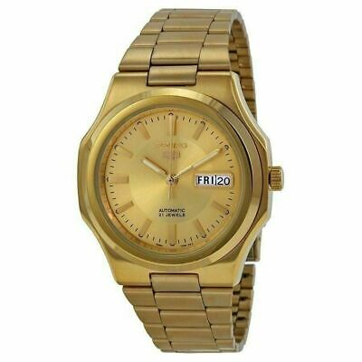 $ CDN202.01 • Buy Seiko Mens Snkk52 Seiko 5 Automatic Gold-tone Stainless Steel Watch *WITHOUT BOX