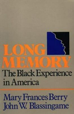 £48.82 • Buy Long Memory: The Black Experience In America: By Berry, Mary Frances,