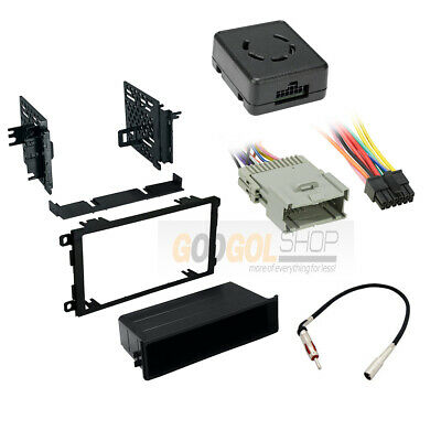 $49.99 • Buy Car Radio Stereo Install Kit Chime Warning Wire Harness For 2003 - 06 Sierra