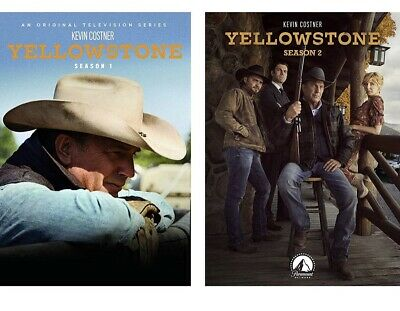 AU58.27 • Buy Yellowstone Seasons 1 And 2 DVD