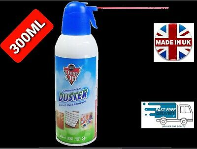 £6.99 • Buy Air Duster Spray Gas Cleaner 300ml Compressed Dust Blower PC Laptop