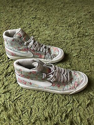 Nike High Top Blazers, Limited Edition Liberty Print, Floral, 7.5UK • 15£