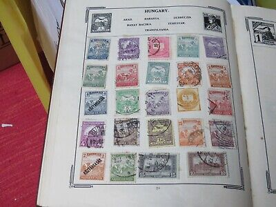 Excellent Collection Of  Old Hungarian Stamps • 10£