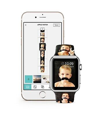 $ CDN64.98 • Buy Custom Apple Watch Strap For Series 1, 2, 3, 4, 5, 6 And Se. Your Own Design!!