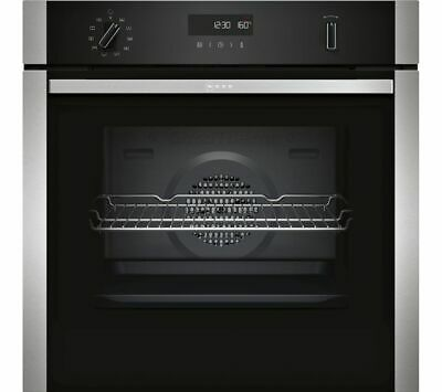 £549.99 • Buy Neff Built-In/Integrated Electric Single Oven & Grill B2ACH7HN0B Stainless Steel