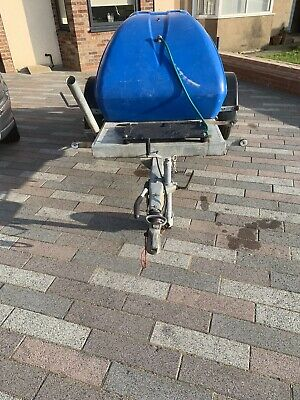 Western 1100 Ltr Water Bowser Trailer Tank Pressure Washer Immaculate • 1,400£