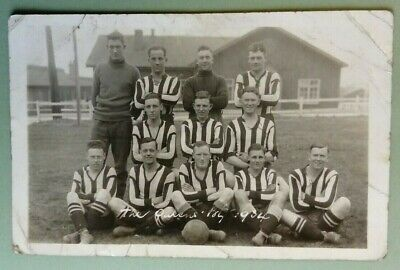 Postcard RP.1934 Football Team.'The Queens' Kodak Ltd  • 2.99£