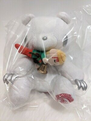 UK SELLER Chax GP Gloomy Bear Plush Christmas White Silver 30cm Toreba Japan • 38£