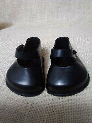 Vintage Cinderella Doll Shoes Black -Size 3- 70 Mm Ex Shop Stock  • 7.95£