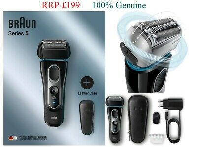 View Details Braun 5147PS Series 5 Men's Electric Shaver - Wet And Dry Rechargeable Razor • 94.00£