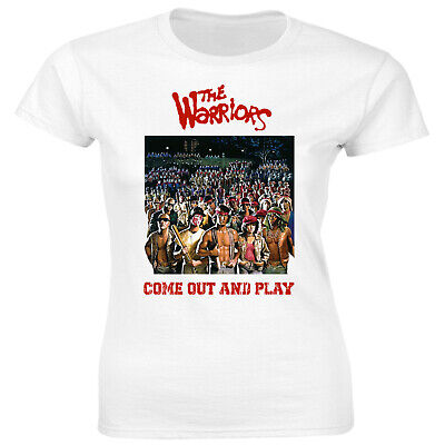 Urban Shaolin Women's The Warriors Movie Inspired Fitted T Shirt, White • 9.99£