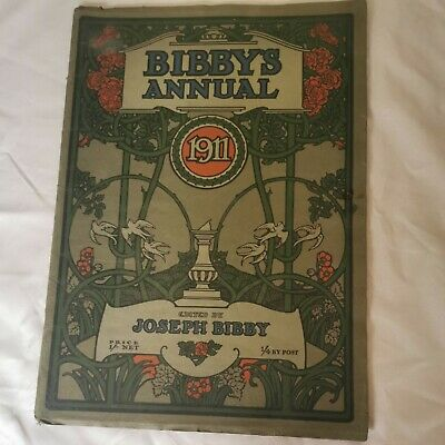 Bibbys Annual 1911,Genuine Family Copy,64 Pages Of Interesting Editorial Feature • 15£