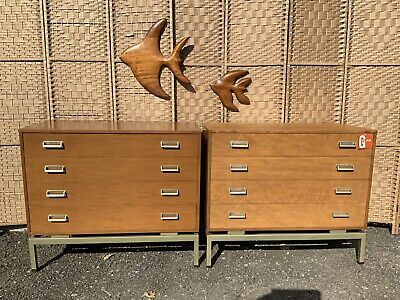 Pair E Gomme G-plan Limba Chests Of Drawers,mid Century, Vintage,retro • 585£