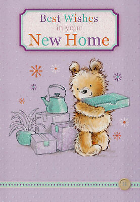 New Home Card Male Brother Friend Son Female Sister Daughter • 1.69£