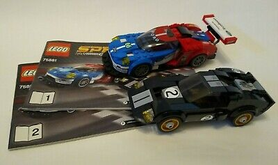 Lego Speed Champions 2016 Ford GT & 1966 Ford GT40 (75881) - Cars Only • 50£