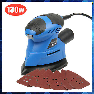 HandHeld Electric Power Sander Sanding Sheets Wood Walls Floors Wooden Furniture • 19.49£