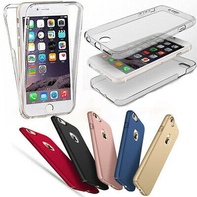 £4.98 • Buy 360° Full Body Front Back Hard Cover Shockproof Slim PC Case For IPhone Samsung