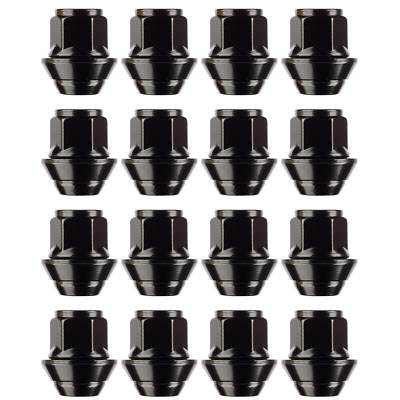 £19.99 • Buy 16x Ford Fiesta Replacement Alloy Wheel Nuts M12 X 1.5 19mm Hex OE Style (Black)