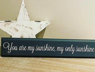 You Are My Sunshine Plaque • 4.50£