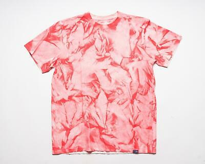 PRPS Goods & Co. NWT Red Pink Bleached 100% Cotton T-Shirt Tee Shirt M • 49.34£