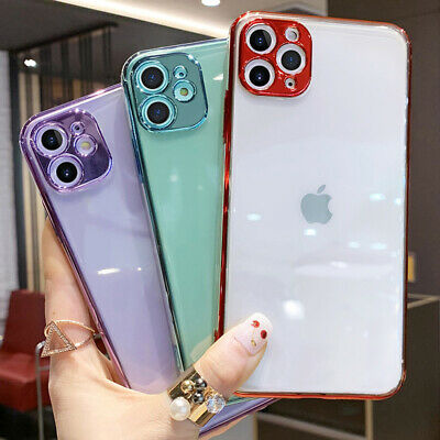 Case For IPhone 11/ Pro / Pro MAX XS XR 7 8 PLUS Max SE Shockproof Clear Cover • 2.99£