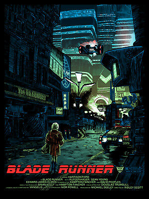 Blade Runner  We Scared..  Alternative Movie Poster Tim Doyle Signed AP NT Mondo • 39.99£