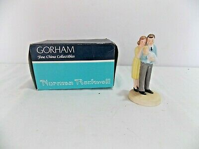 $ CDN9.96 • Buy Gorham Norman Rockwell Figurine New Arrival Limited Edition MA Life Insurance