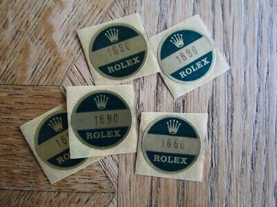 $ CDN69.43 • Buy MC Vintage Used ROLEX Stickers. 1680 Submariner.