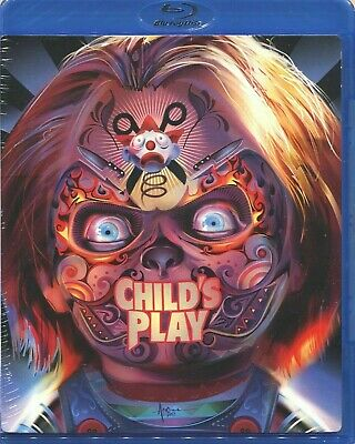 Childs Play 1988 Blu-ray New Sealed • 8.24£