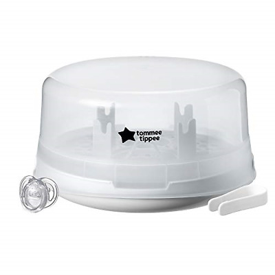 £27.01 • Buy Tommee Tippee Closer To Nature Microwave Steam Steriliser, White