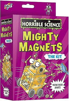 AU24.99 • Buy Brand New Galt Horrible Science Mighty Magnets Kit - Educational Experiment