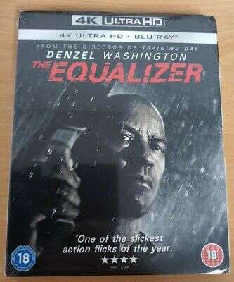 AU40 • Buy The Equalizer 4K Ultra HD + Blu-ray (2 Disc Set) Brand New Sealed