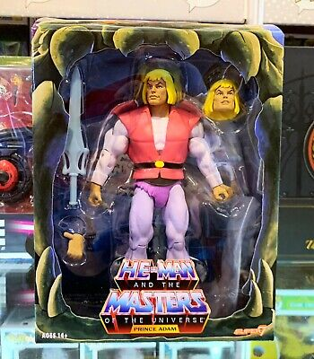 $59.99 • Buy MOTU Filmation Masters Of The Universe Prince Adam Figure Super7 NEW