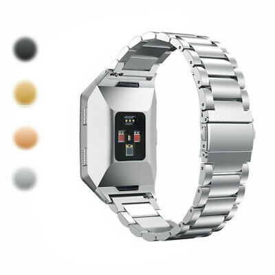 AU7.99 • Buy Stainless Steel Fashion Luxury Clasp For Fitbit Ionic Watch Wrist Band Bracelet