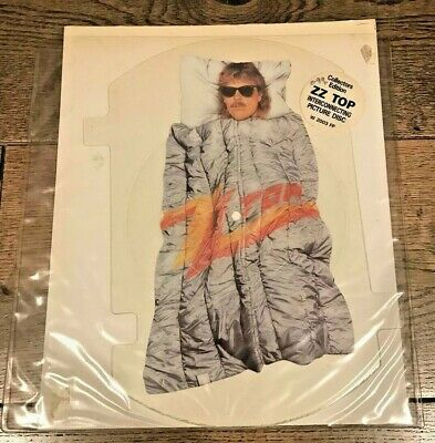 ZZ Top – Rough Boy (1986) 7 , Shaped Picture Disc • 16.49£