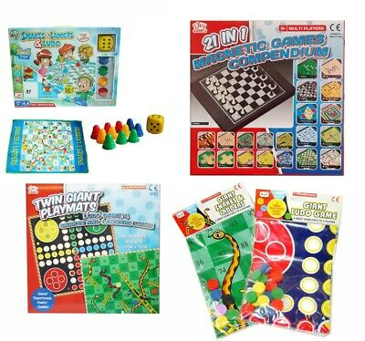 Traditional Board Game - Ludo Game Snakes & Ladders Game Leisure • 9.09£