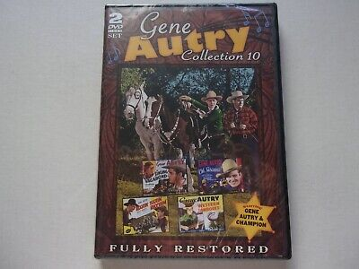 Gene Autry  Collection 10.  Fully Restored.    2 DVD Set   New  Sealed • 6.94£