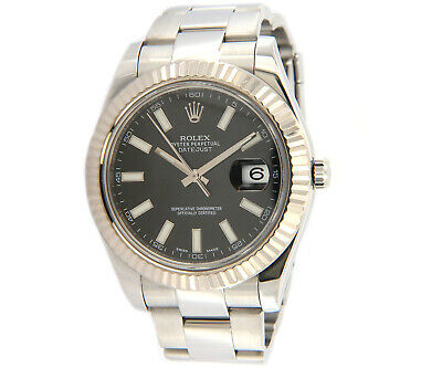 $ CDN11524.93 • Buy Rolex Datejust II 116334, 41MM, Stainless, Black Dial