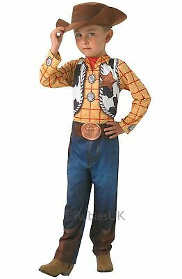 £18.99 • Buy Disney Deluxe Woody Costume Toy Story Fancy Dress Kids Boys Ages 5-8 Years