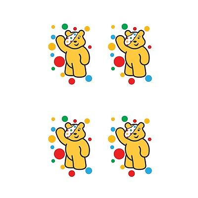 Children In Need Spots Waving For Face Mask - Iron On Tshirt Transfer - A6 • 2.47£