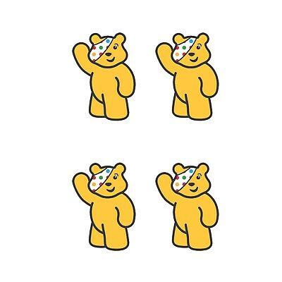 Children In Need Pudsey Bear For Face Mask - Iron On Tshirt Transfer - A6 • 2.47£