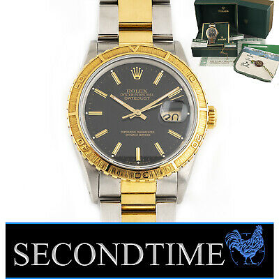 $ CDN9422.20 • Buy Rolex Vintage Thunderbird Turn-O-Graph 16253 36mm Datejust SS/18k YG Oyster