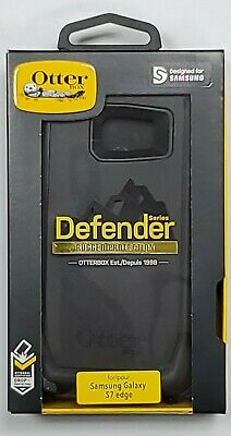 $ CDN30.11 • Buy OtterBox - Defender Series Protective Cover For Samsung Galaxy S7 Edge - Black